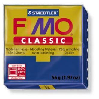 Полимерная глина FIMO Classic, ультрамарин, (56гр) STAEDTLER. 33N/8000