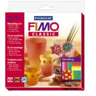 Набор FIMO Сlassic для мастер-класса «Переход цветов» 4x56г. 8003/33/L1