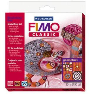 Набір FIMO Classic для майстер-класу «Геометричні фігури» 4х56г. 8003/30/L1