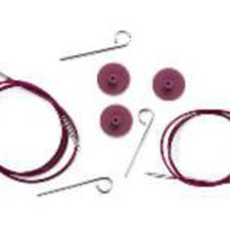 Кабель фиолетовый для создания круговых спиц  KnitPro