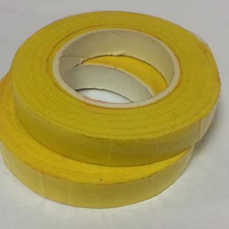 Тейп лента желтая