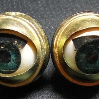 Глазки закрывающиеся с ресничками TS-12