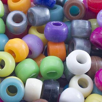 Бусины в стиле пандора,  цвет - микс