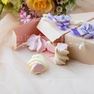 Набор картонных заготовок для изготовления подарочной упаковки (коробочки, бонбоньерки, обертка для капкейков)