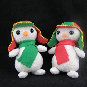 Мягкая игрушка Снеговики