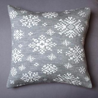 Новогодние подушки Снежинка