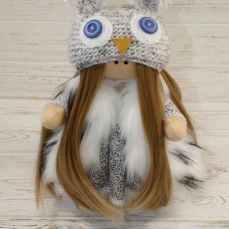 Інтер'єрна лялька-совушка