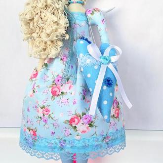 Кукла тильда Ангел домашнего очага