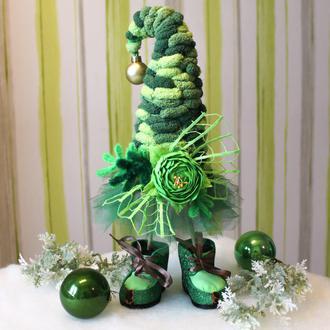 Елочка- топотушка, стильный подарок к Новому году и Рождеству