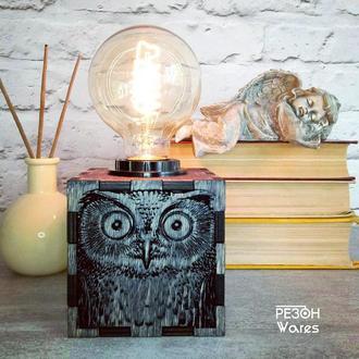 Настольная лампа «Сова»