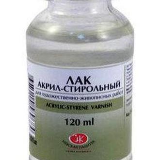 Лак акрил-стирольный ЗХК Невская Палитра 120мл 2533935