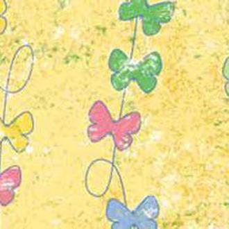 Калька URSUS А4 Парадис 115г Желтый мотив Бабочки UR-77194605R