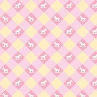 Калька URSUS А4 115г/м Baby Розовая мотив Игрушки Клетка мелкая UR-53364605R