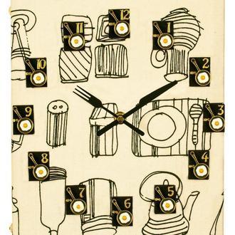"""Часы из книги """"Книга рецептов - 1"""" ручная работа"""