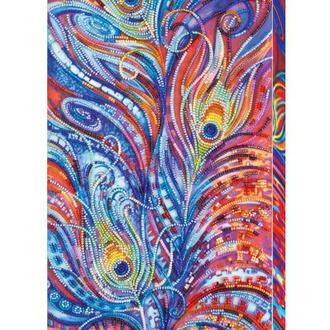 Набор для вышивания бисером Абрис 19*40 см AB-432 Магические перья