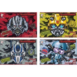 Альбом для рисования А4 12л Kite мод.241 Transformers TF18-241