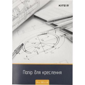 Бумага для черчения А4 10л. 120г/м Kite K18-269