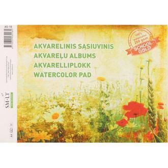 Бумага-склейка для акварели Smiltainis Gold А4 21*29,7см 200г/м 10л. AS-10