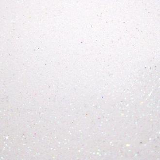 Фоамиран (Китай) А4 (20*30см) Флексика с блестками 1,5мм набор 10л. EVA Белый самоклейка 8682