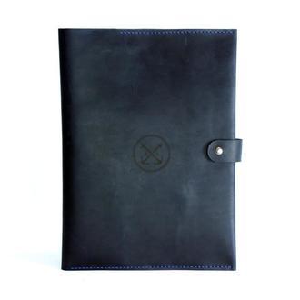 Папка документов А4 — тёмно-синяя
