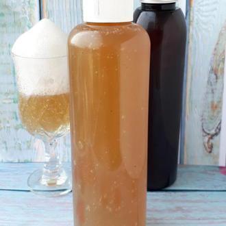 Натуральный шампунь на мыльных ореха