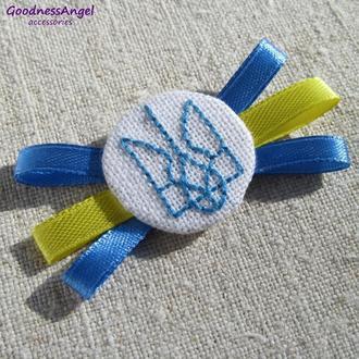 Герб України вишитий