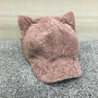 Теплые женские шапки с ушками. Новинка 2019!