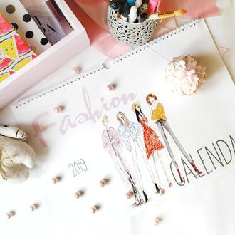 Календарь с авторскими иллюстрациями