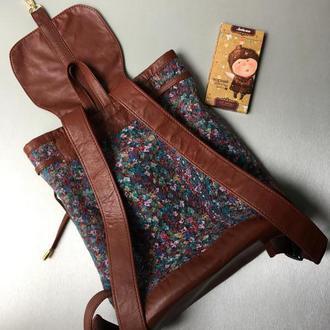 Валяный рюкзак