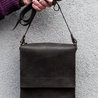Мужская кожаная сумка. 05003