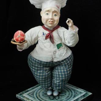 Авторская коллекционная художественная кукла «Bon Appétit»