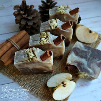 Натуральное мыло «Яблоко и Корица»