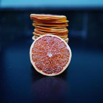 Грейпфрутовые чипсы