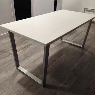 Стол большой 2х0,8м кухонный обеденный лофт