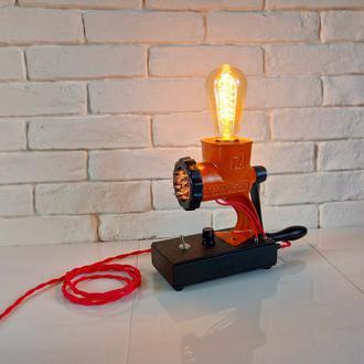 Настольная лампа ночник с лампой Эдисона