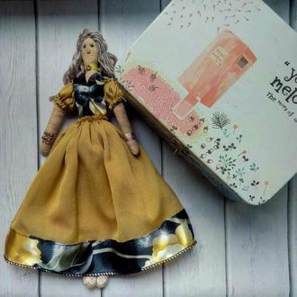 """Кукла """"Адель"""" в стиле тильда, текстильная, интерьерная"""