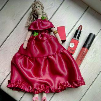 """Кукла """"Элизабет"""" в стиле тильда, текстильная, интерьерная"""