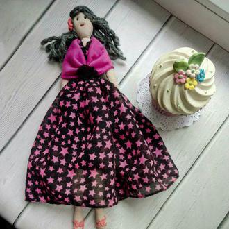 """Кукла """"Сусанна"""" в стиле тильда, текстильная, интерьерная"""