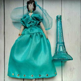 """Кукла """"Беатрис"""" в стиле тильда, текстильная, интерьерная"""