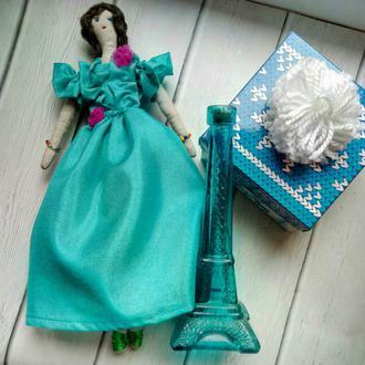 """Кукла """"Ингрид"""" в стиле тильда, текстильная, интерьерная"""