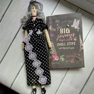 """Кукла """"Агнесса"""" в стиле тильда, текстильная, интерьерная"""