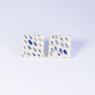 Большие квадратные гвоздики из керамики
