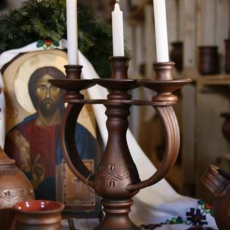 Підсвічник на три свічки