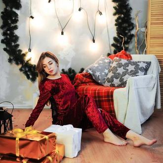 Пижама бархат велюр