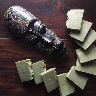 Нубийское мыло (с маслом черного тмина 15% и маслом лавра благородного 15%)