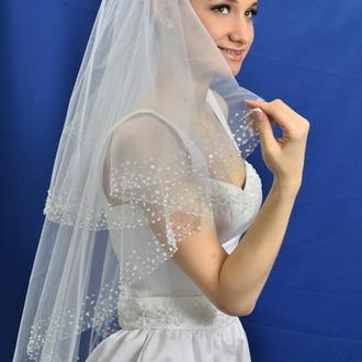 """Свадебная фата """"Звездная россыпь"""""""