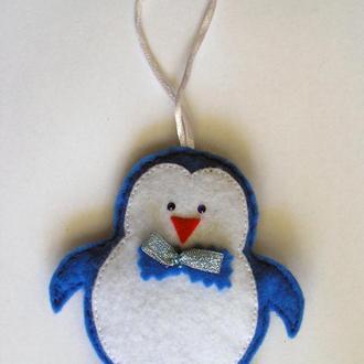"Елочная игрушка ""Пингвин"""