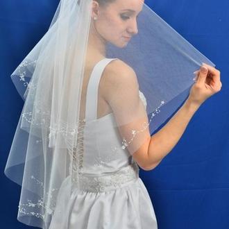 """Свадебная фата """"Эдельвейс"""""""