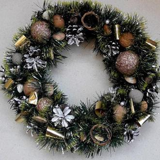 Новогодний венок №2 Рождественский