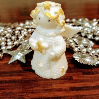 """""""Ангелочек с золотыми локонами"""" мыло,подарок на Новый год и Рождество"""